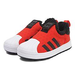 adidas阿迪三叶草2017新款中性婴童SUPERSTAR WINTER 360 I休闲鞋BY9942