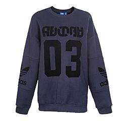 adidas Originals阿迪三叶草新款女子TREFOIL SWEATER套头衫BS4284