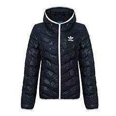 adidas Originals阿迪三叶草2017年新款女子SLIM JACKET AOP棉服BS5011