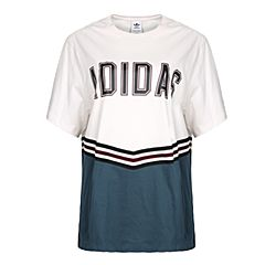 adidas Originals阿迪三叶草2018女子ADIBREAK SS TEE短袖T恤CE1001