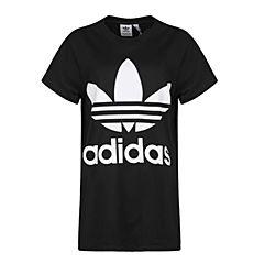 adidas Originals阿迪三叶草2018女子BIG TREFOIL TEE短袖T恤CE2436