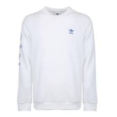 adidas阿迪达斯三叶草2018男子Graphic Crew针织套衫DP8575