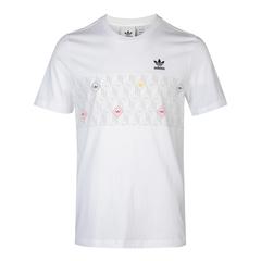adidas阿迪達斯三葉草男子MONO TEE 2T圓領短T恤GD5847