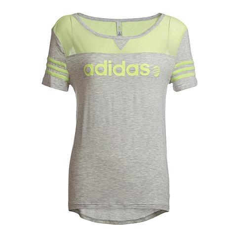 adidas阿迪休闲新款女子街头休闲系列T恤AB8946