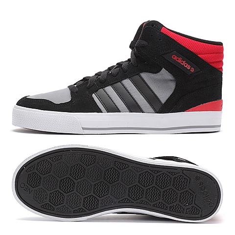 adidas阿迪休闲2015新款男子高帮休闲鞋f98385