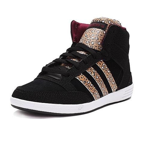 adidas阿迪休闲新款女子高帮休闲鞋F98642