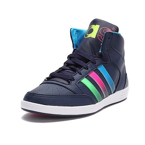 adidas阿迪休闲新款女子高帮休闲鞋F98643