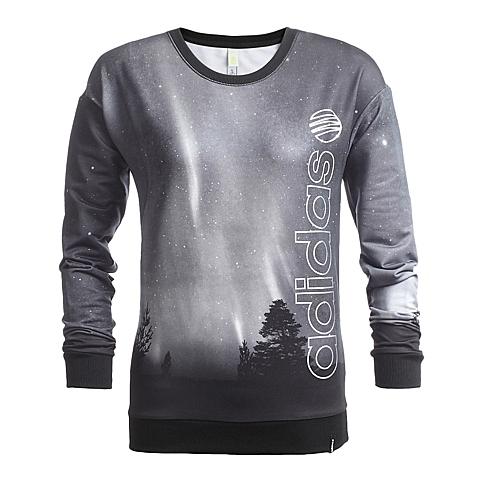 adidas阿迪休闲新款女子生活休闲系列针织套衫AH7593