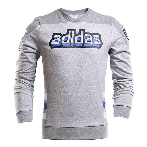 adidas阿迪休闲新款男子生活休闲系列针织套衫AJ8249