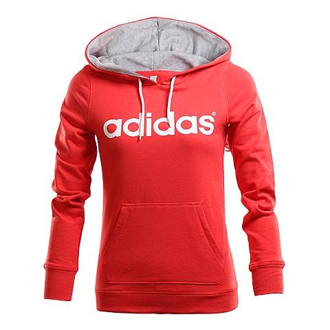 adidas阿迪休闲新款女子生活休闲系列连帽套头衫AK1157