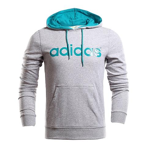 adidas阿迪休闲2016年新款男子休闲生活系列连帽套头衫AK0948