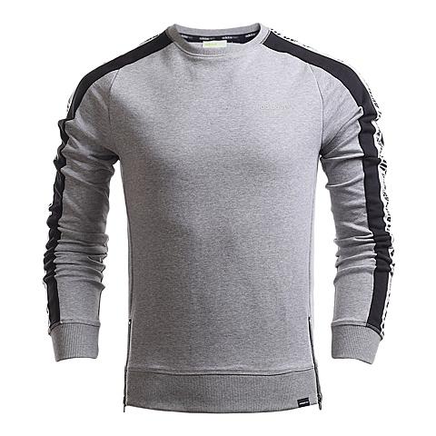 adidas阿迪休闲新款男子休闲生活系列套头衫AJ8298