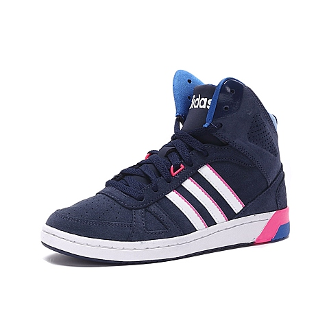 adidas阿迪休闲2016年新款女子高帮休闲鞋F99433
