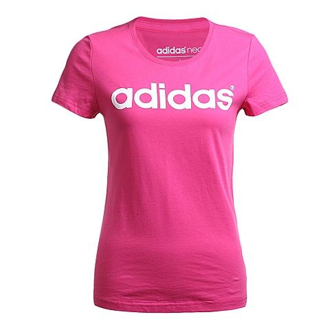 adidas阿迪休闲新款女子休闲生活系列短袖T恤AK1168