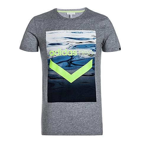 adidas阿迪休闲2016年新款男子休闲生活系列T恤AJ8239