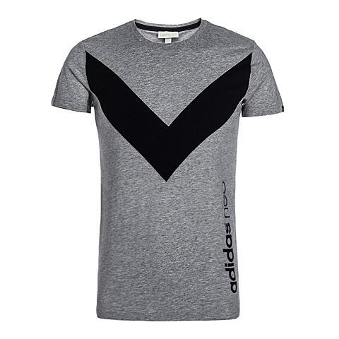 adidas阿迪休闲新款男子休闲生活系列T恤AJ8240
