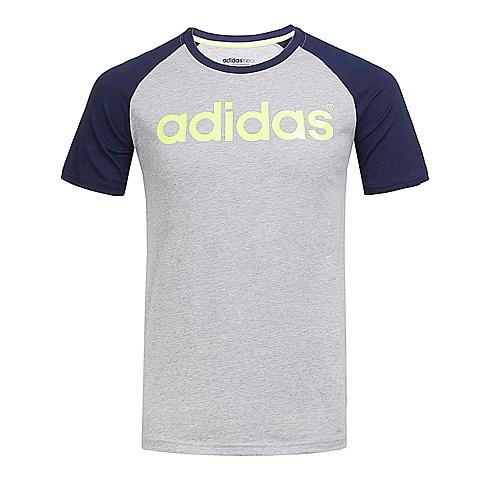 adidas阿迪休闲新款男子休闲生活系列T恤AJ7550