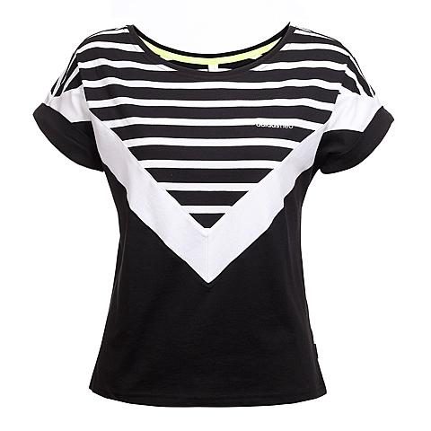 adidas阿迪休闲新款女子休闲生活系列T恤AJ8639
