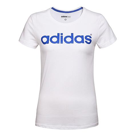 adidas阿迪休闲新款女子休闲生活系列T恤AK1170