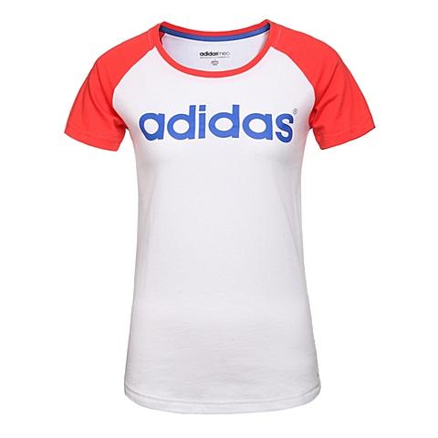 adidas阿迪休闲新款女子休闲生活系列T恤AK1182