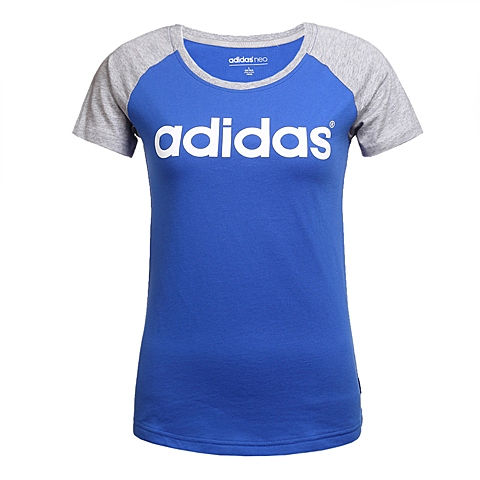 adidas阿迪休闲新款女子休闲生活系列T恤AZ8424