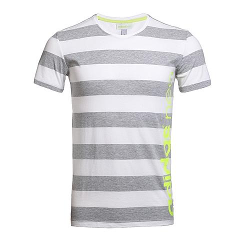 adidas阿迪休闲新款男子休闲生活系列T恤AJ7547