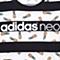adidas阿迪休闲新款女子休闲生活系列短袖T恤AX5553
