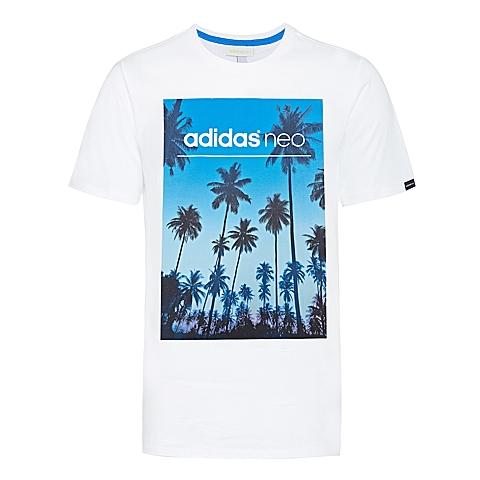 adidas阿迪休闲新款男子休闲生活系列T恤AJ8248