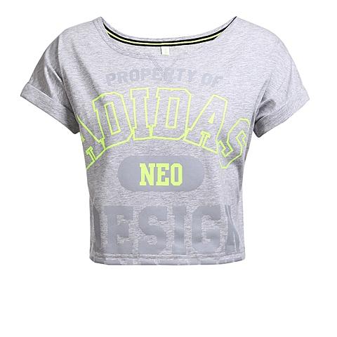 adidas阿迪休闲新款女子休闲系列T恤AK0996