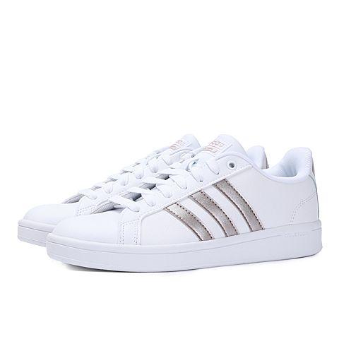 adidas neo阿迪休闲2018女子CF ADVANTAGECOURT系列休闲鞋DA9524