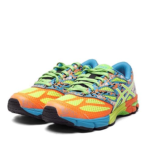 asics亚瑟士新款 中性青少鞋  亲子GEL-NOOSA TRI 10 GS跑步鞋C523N-3007