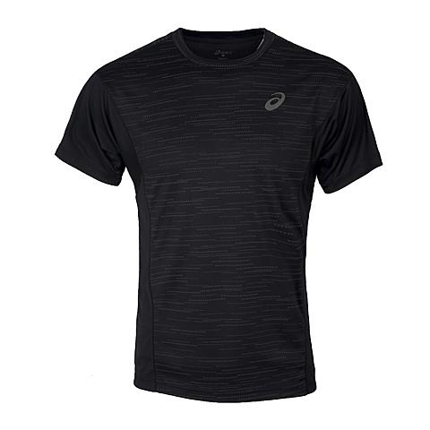 asics亚瑟士 新款男子LITE-SHOW 运动短袖T恤XXR560-0904