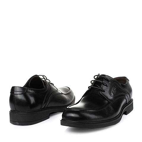 BELLE/百丽2013秋季黑色牛皮男单鞋91315CM3婚鞋系列 ¥329