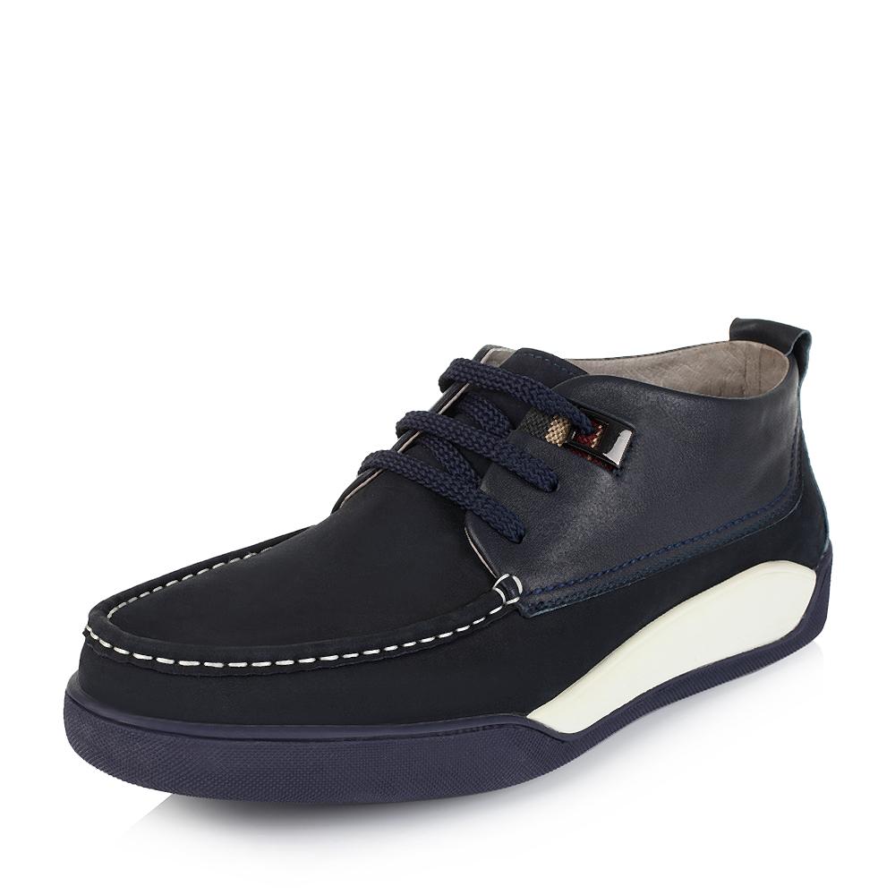Belle/百丽冬专柜同款时尚休闲磨砂牛皮男靴3ZM01DD5