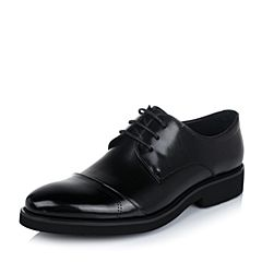 Belle/百丽专柜同款秋季牛皮男商务休闲鞋4NF11CM6