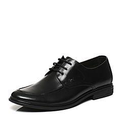 Belle/百丽春专柜同款黑色商务风正装牛皮男皮鞋4SP01AM7