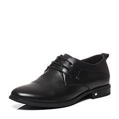 Belle/百丽春季专柜同款牛皮商务正装男皮鞋4TN01AM7