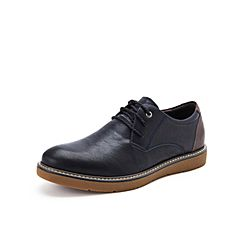 Belle/百丽2017新款秋季专柜同款牛皮男皮鞋B3H05CM7