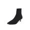 Belle/百丽瘦瘦靴专柜同款黑色飞织帮面小猫跟袜靴女中靴 BA460DZ8