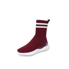 Belle/百丽2018冬季专柜新款针织帮面休闲袜靴女?#37266;C160DZ8