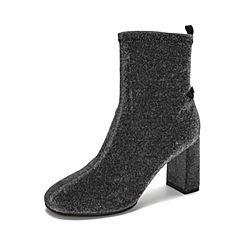 Belle/百丽2018冬季专柜新款格利特女短靴T2E1DDD8