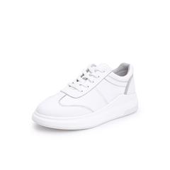 Belle/百丽牛皮革厚底小白鞋女休闲鞋31960CM8