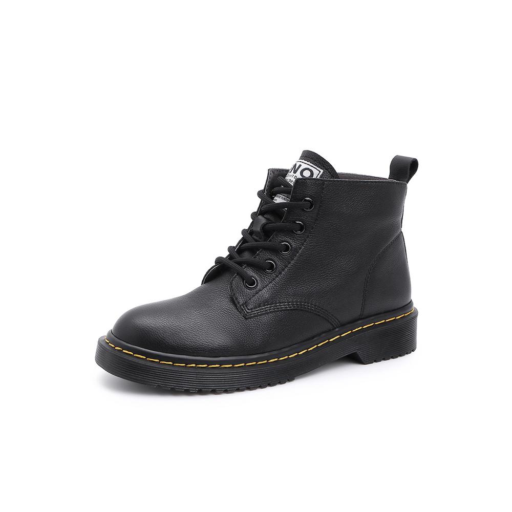 Belle/百丽马丁靴