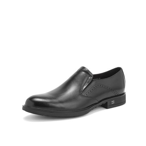 Belle/百麗2019年春新商場同款商務正裝鞋牛皮革男皮鞋B8308AM9