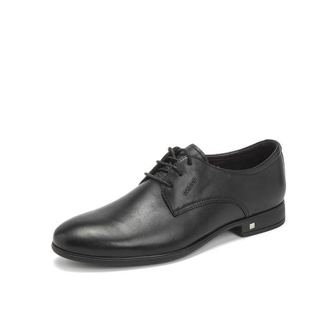 Belle/百丽婚鞋2019春新商场同款小牛牛皮革男商务正装德比鞋B5215AM9