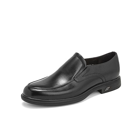 Belle/百麗2019年春新商場同款商務正裝鞋牛皮革男皮鞋B3GA3AM9