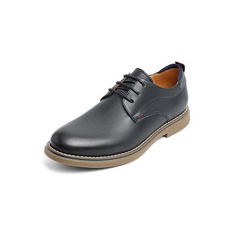 Belle/百麗工裝鞋2019春季新商場同款油牛皮革男商務皮鞋B3HA2AM9