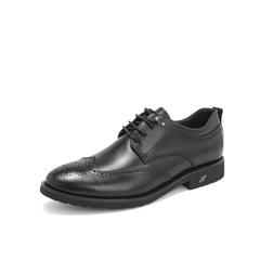 Belle/百丽布洛克雕花鞋2019年春新商场同款英伦风婚鞋牛皮革男商务皮鞋B8717AM9