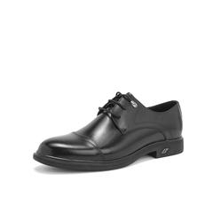 Belle/百丽2019年春新商场同款商务正装鞋牛皮革男皮鞋B3G28AM9