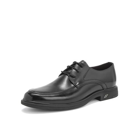 Belle/百麗婚鞋2019年春新商場同款商務正裝鞋牛皮革男皮鞋B3GA1AM9